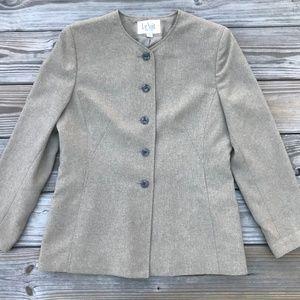 Le Suit Petite Women Blazer Coat Jacket Size 10P